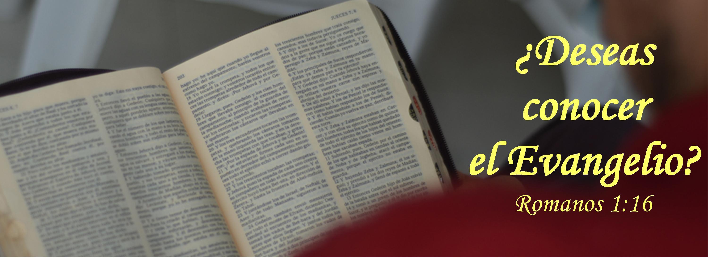 Deseas Conocer el Evangelio Slide